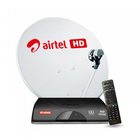 Airtel Digital TV HD  + HD Dabangg  Pack