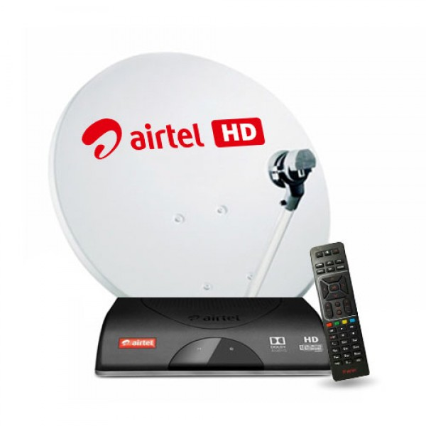 Airtel Digital TV HD Connection with ...