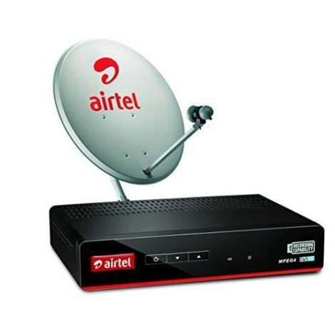 Airtel Digital TV Make My Pack with Free To Air Plan 2019