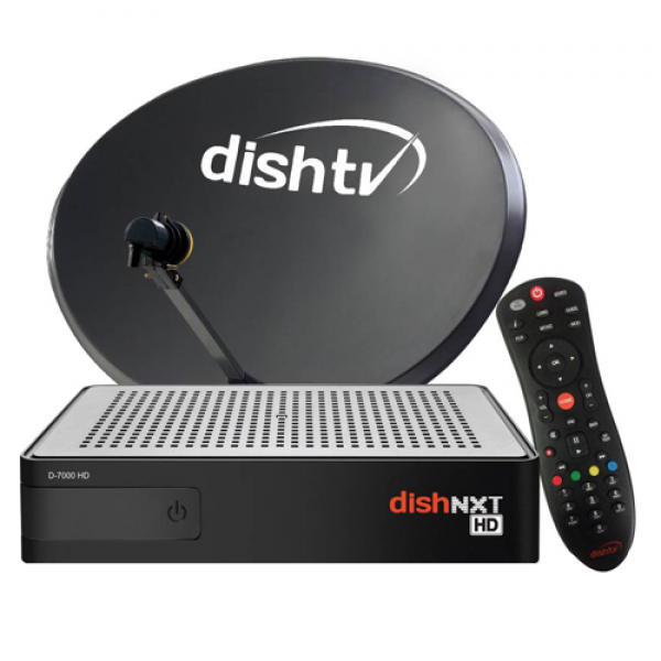 Dish TV dth connection with  ...
