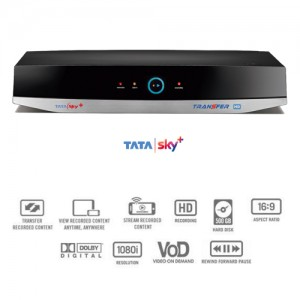 Tata Sky HD PVR Transfer (HD+)