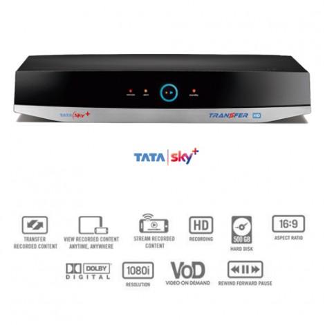 Tata Sky HD PVR Transfer (HD+)