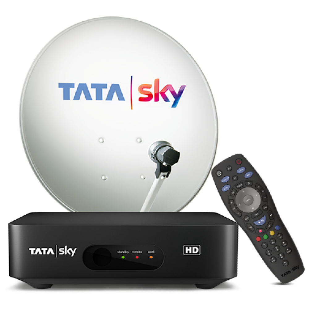 New Tata Sky Hd Connection