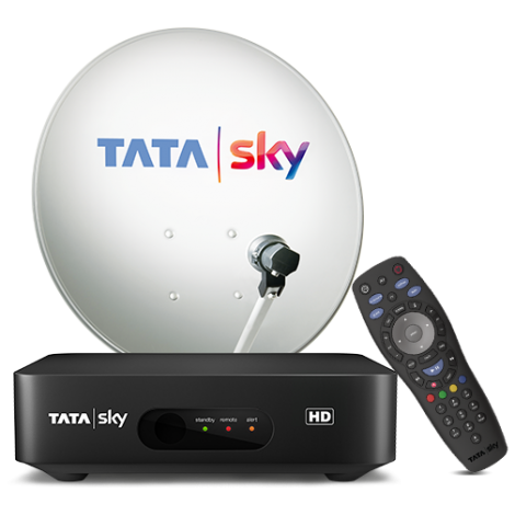 Tata Sky HD Set Top Box + Marathi Basic HD