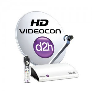 Videocon DTH  connection with Silver ...